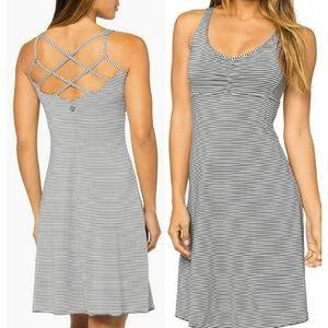 PrAna Rebecca striped active dress